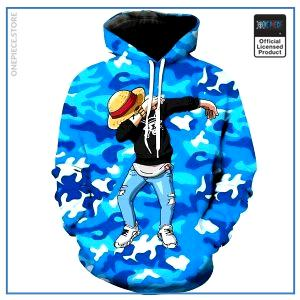 One Piece Hoodie  Luffy Dab  LIMITED EDITION OP1505 S Official One Piece Merch