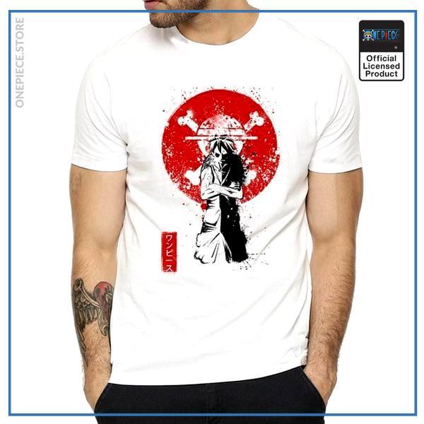 One Piece Shirt  Red Luffy OP1505 S Official One Piece Merch