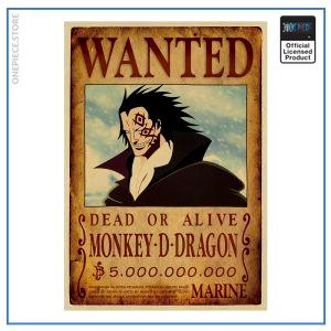 One Piece Wanted Poster  Dragon Bounty OP1505 Default Title Official One Piece Merch