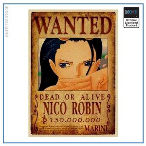 One Piece Wanted Poster  Nico Robin Bounty OP1505 Default Title Official One Piece Merch