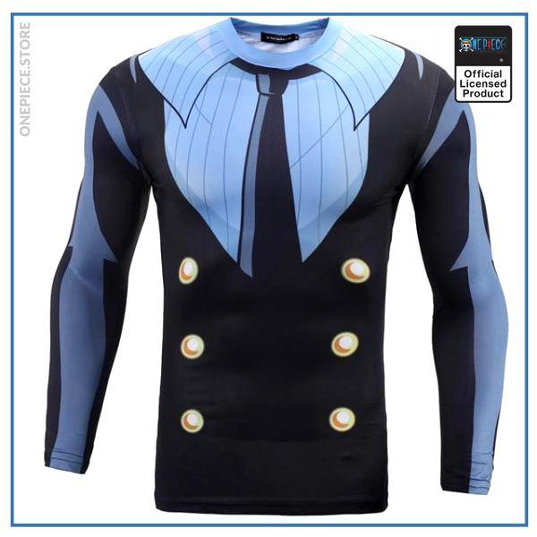 One Piece  Compression Shirt  Sanji OP1505 S Official One Piece Merch
