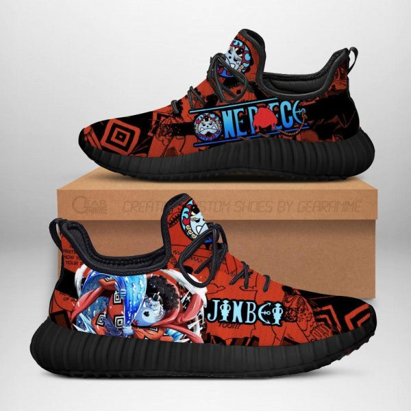 one piece jinbei reze shoes custom one piece anime sneakers - One Piece Store