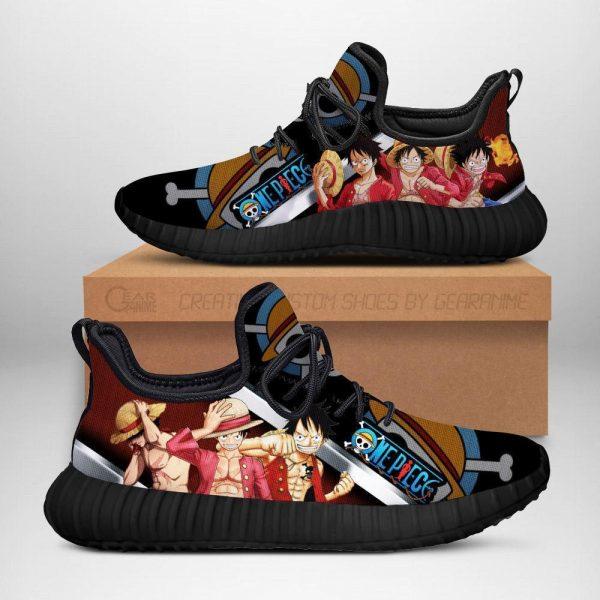 one piece luffy reze shoes one piece anime shoes fan gift idea tt04 - One Piece Store