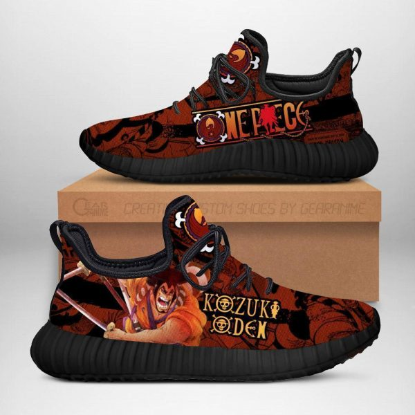 one piece oden reze shoes custom one piece anime sneakers - One Piece Store