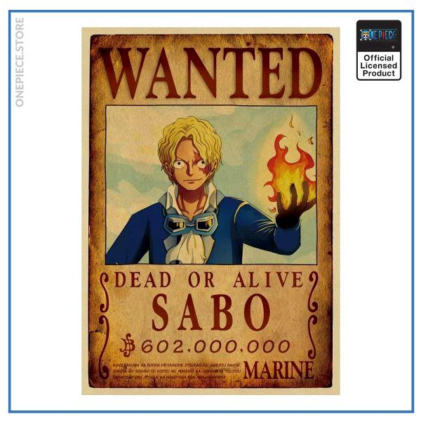 One Piece Wanted Poster  Sabo Bounty OP1505 Default Title Official One Piece Merch