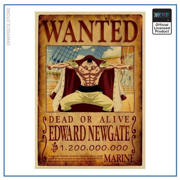 One Piece Wanted Poster  Whitebeard Bounty OP1505 Default Title Official One Piece Merch