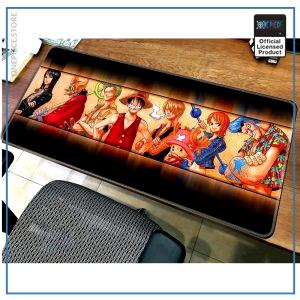 One Piece Mouse Pad  Straw Hat Crew (XXL) OP1505 Default Title Official One Piece Merch