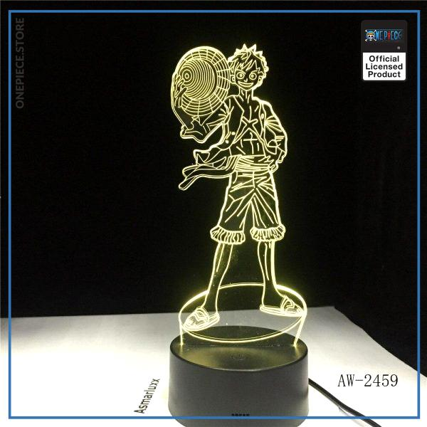 One Piece Light Lamp  Straw Hat Luffy OP1505 Touch + Remote Official One Piece Merch