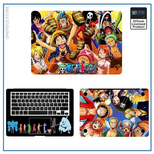 One Piece Laptop Skin  Smilling Straw Hat Pirates OP1505 Air 11 inch / A side Official One Piece Merch