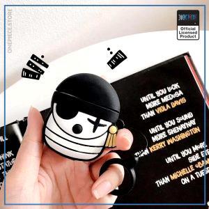 One Piece AirPod Case  Zoro Jolly Roger OP1505 Default Title Official One Piece Merch