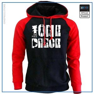 One Piece Hoodie  Straw Hat Crew OP1505 Red / S Official One Piece Merch