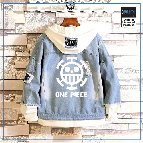 One Piece Jean Jacket  ONE PIECE OP1505 M Official One Piece Merch