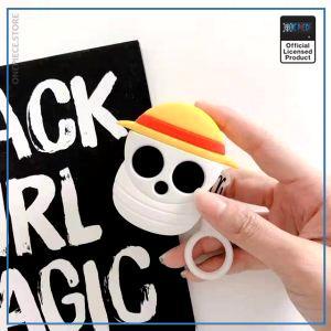 One Piece AirPod Case  Straw Hat Logo OP1505 Default Title Official One Piece Merch