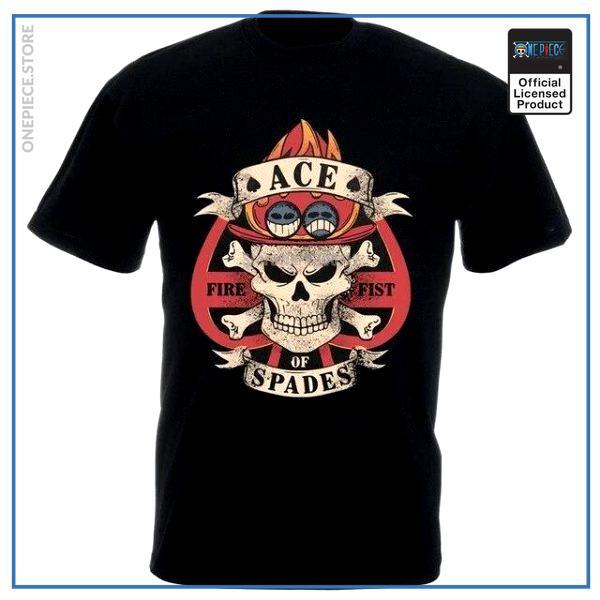 One Piece Shirt  Ace of Spades OP1505 S Official One Piece Merch