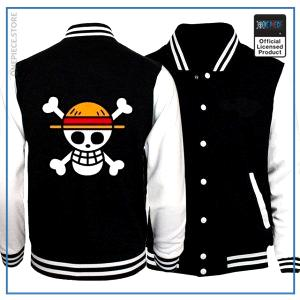 One Piece Varsity Jacket  Straw Hat OP1505 S Official One Piece Merch