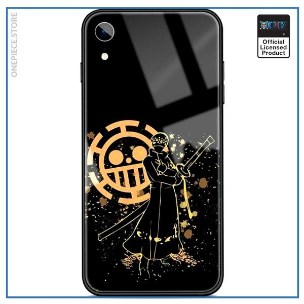 One Piece iPhone Case  Law Yellow Aura OP1505 For iPhone XS Official One Piece Merch
