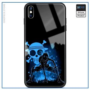 One Piece iPhone Case  Luffy Blue Aura OP1505 For iPhone 8Plus Official One Piece Merch