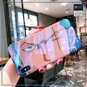 One Piece iPhone Case  Zoro (Blue Ray Effect) OP1505 For iPhone 6 6S Official One Piece Merch