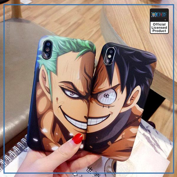 One Piece iPhone Case  Zoro and Luffy OP1505 Zoro / For iPhone 6 Official One Piece Merch