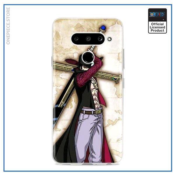 One Piece LG Case  Dracule Mihawk OP1505 for Q6(G6 Mini) Official One Piece Merch