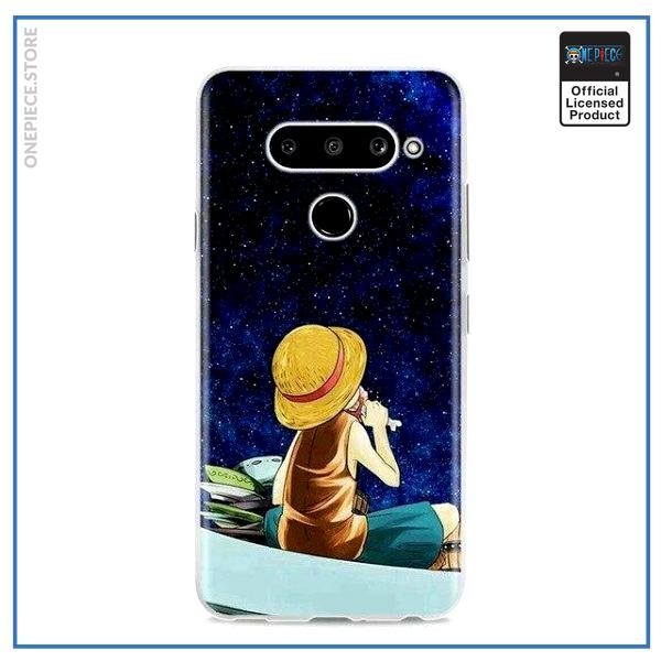 One Piece LG Case  Galaxy Luffy OP1505 for Q6(G6 Mini) Official One Piece Merch