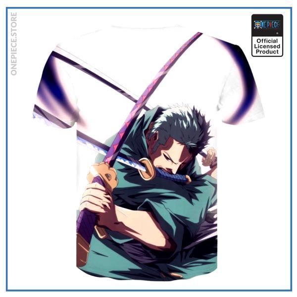 One Piece Shirt  Zoro Demon Slash OP1505 M Official One Piece Merch