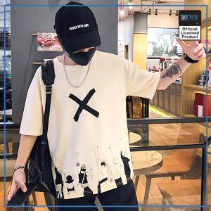 One Piece Shirt  Nakama Streetwear OP1505 Beige / S Official One Piece Merch