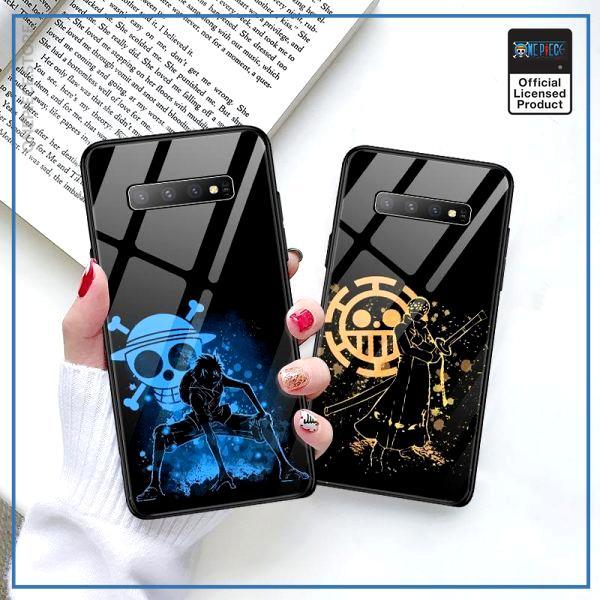 One Piece Samsung Case  Luffy and Trafalgar Law OP1505 For Galaxy S7Edge / Luffy Official One Piece Merch