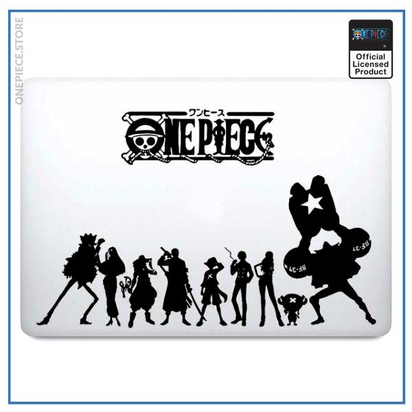 For 11 inch MacBook / White Official One Piece Merch