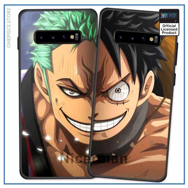 One Piece Samsung Case  Zoro and Luffy OP1505 Samsung  J6 2018 / Zoro Official One Piece Merch