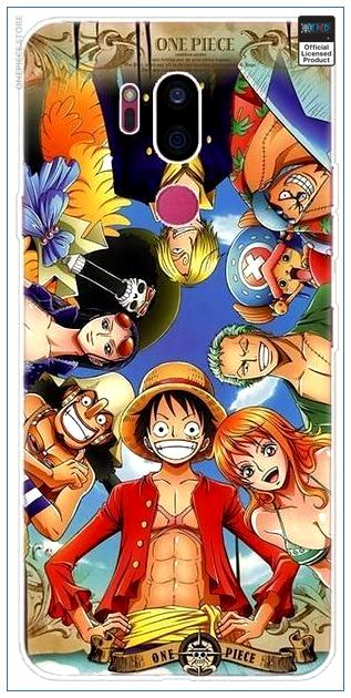 One Piece LG Case  Smiling Staw Hat Pirates OP1505 LG G6 Official One Piece Merch
