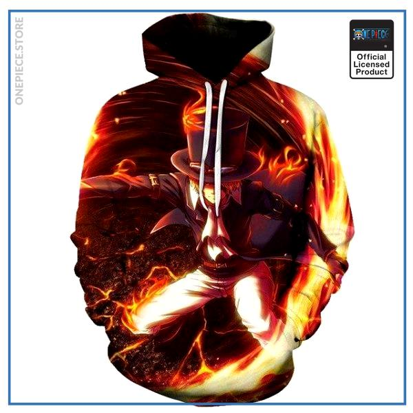 One Piece Hoodie  Sabo OP1505 S Official One Piece Merch