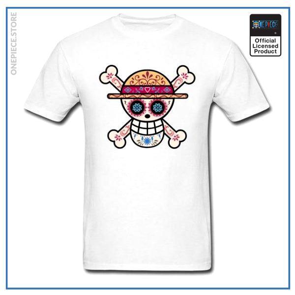 One Piece Shirt  Sugar Skull OP1505 S Official One Piece Merch