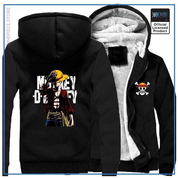 One Piece Jacket  Monkey D. Luffy (Black) OP1505 M Official One Piece Merch