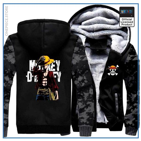 One Piece Jacket  Monkey D. Luffy (Vintage) OP1505 M Official One Piece Merch