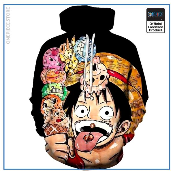 One Piece Hoodie  Ice Cream OP1505 S Official One Piece Merch