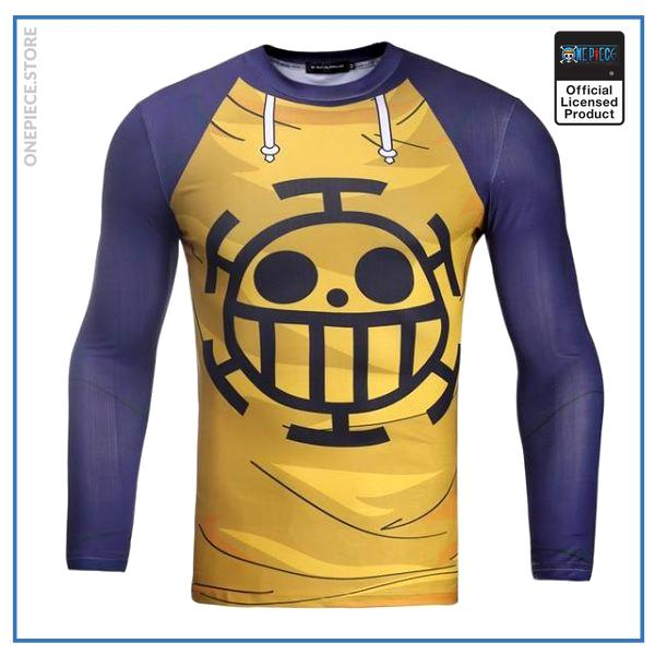 One Piece  Compression Shirt  Trafalgar Law OP1505 S Official One Piece Merch