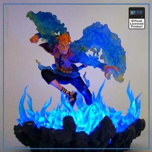 One Piece LED Lamp  Marco The Phoenix OP1505 Default Title Official One Piece Merch