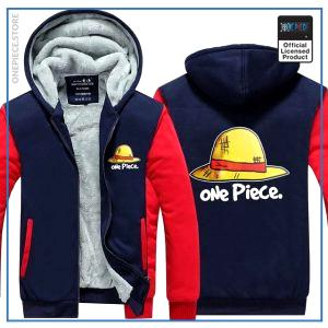 One Piece Jacket  ONE PIECE (Red & Blue) OP1505 M Official One Piece Merch