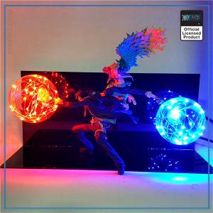 One Piece 3D Lamp  Ace and Marco OP1505 EU Official One Piece Merch