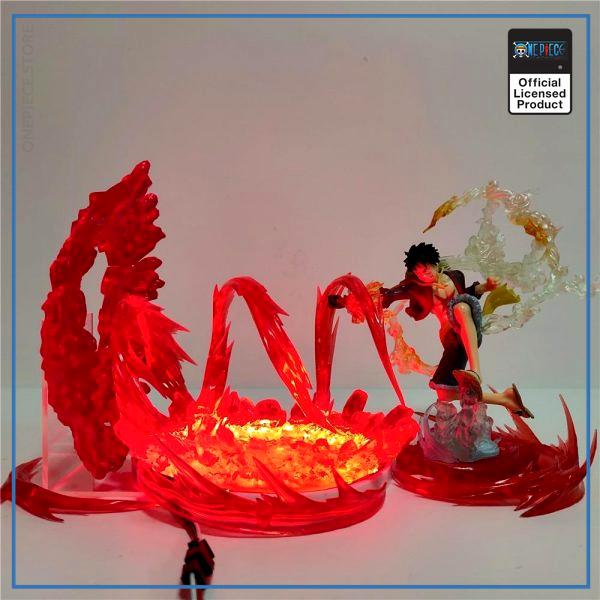 One Piece LED Lamp  Luffy Red Hawk OP1505 Default Title Official One Piece Merch