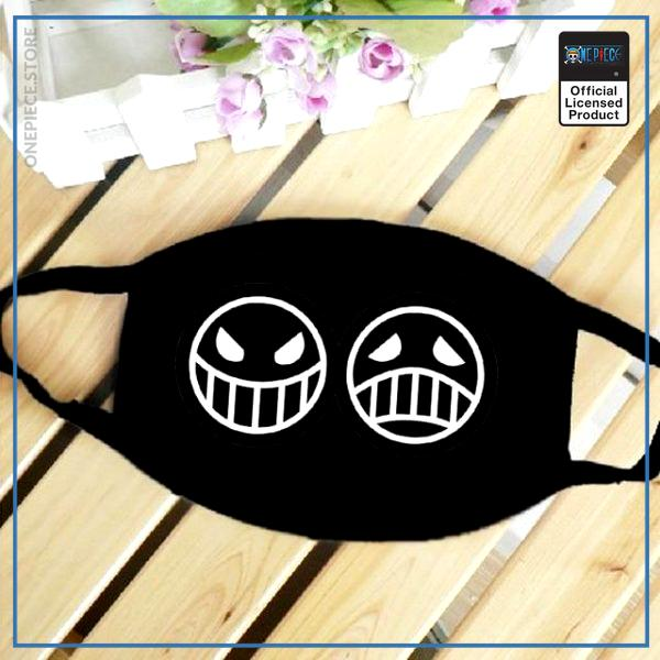 One Piece Face Mask  Smiley OP1505 Default Title Official One Piece Merch