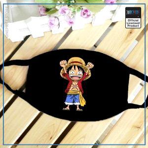 One Piece Face Mask  Chibi Luffy OP1505 Default Title Official One Piece Merch