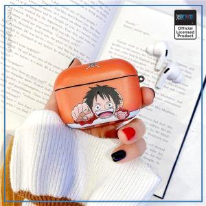 One Piece AirPod Pro Case  Chibi Luffy OP1505 Default Title Official One Piece Merch