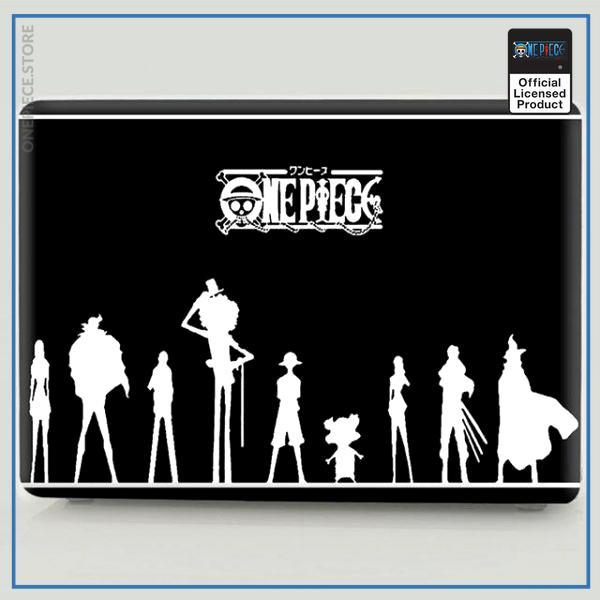 One Piece Laptop Skin  The Straw Hats OP1505 Pro 13 A1278 Official One Piece Merch