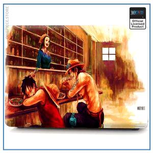 One Piece Laptop Skin  Ace and Luffy OP1505 Pro 13 A1706 A1708 Official One Piece Merch