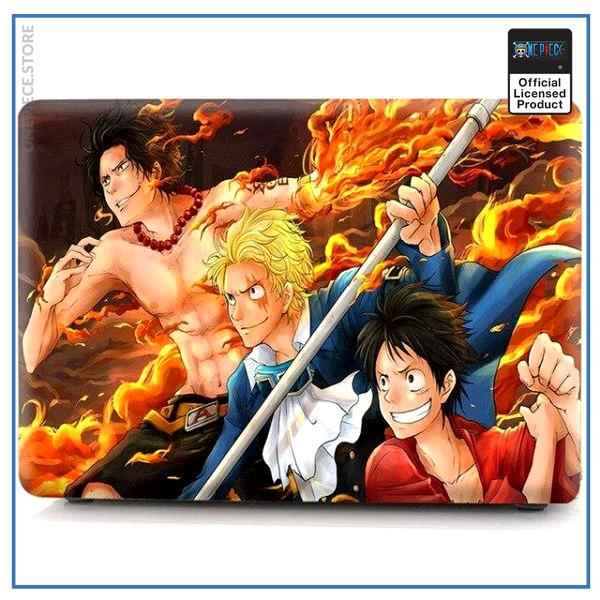 One Piece Laptop Skin  Luffy Ace Sabo OP1505 Pro 13 A1278 Official One Piece Merch