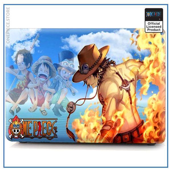 One Piece Laptop Skin  Ace OP1505 Retina 12 A1534 Official One Piece Merch