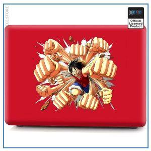 One Piece Laptop Skin  Luffy Gatling Gun OP1505 Pro 13 A1706 A1708 Official One Piece Merch
