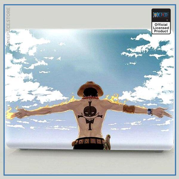 One Piece Laptop Skin  Ace Blue Sky OP1505 Pro 13 A1278 Official One Piece Merch